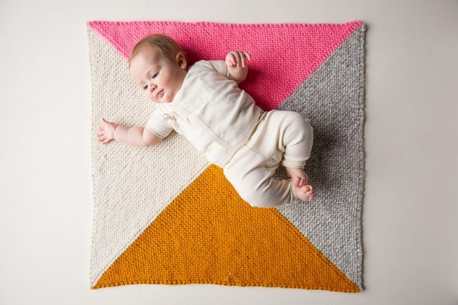 0d7b1110c Four Points Baby Blanket in Super Soft Merino