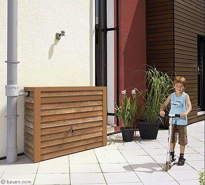Cool Wassertank in Holzoptik Gartentipps Garten und Au enanlagen