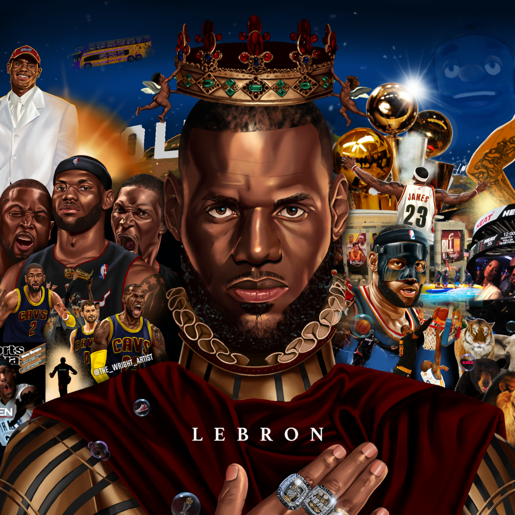 Lebron Poster King Lebron Lebron James Jr Lebron James Wallpapers