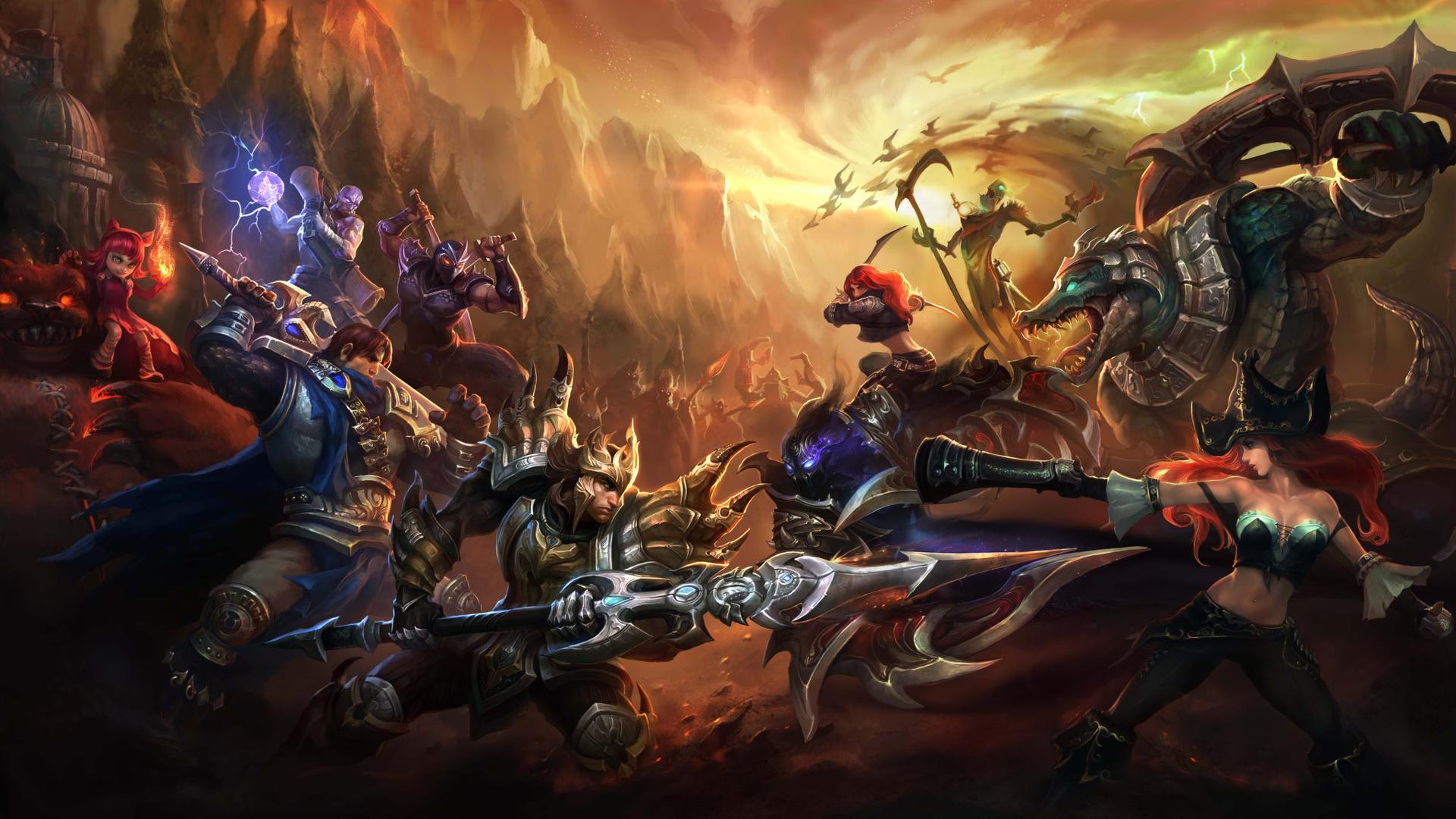 Broken Screen League Of Legends Wallpaper Full Hd Wallpaper League Of Legends Hd Wallpaper