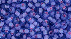 TR-08-938 Round 8/0 : Inside-Color Aqua/Pink Lined