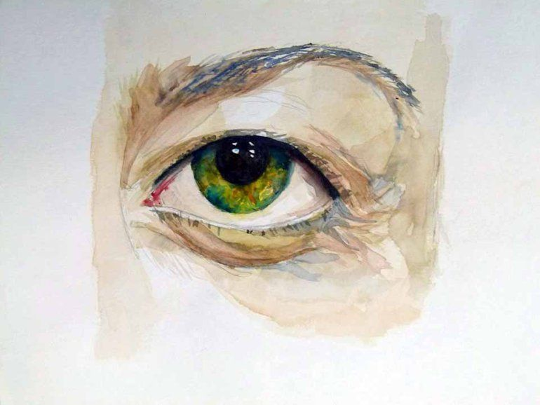 Wie Male Ich Ein Auge In Aquarell C Frank Koebsch 9 Mit