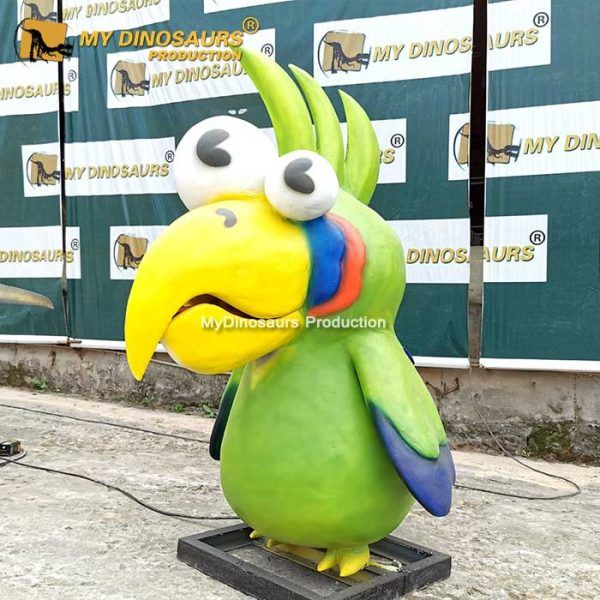 AA-095 Customized Mascot Parrot for Zoo Park