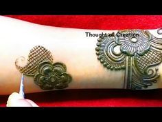 Latest new stylish arabic mehndi design for hands thought of creation youtube also rh pinterest