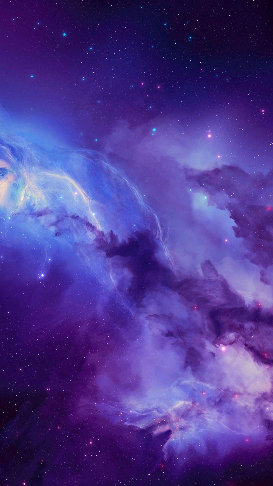 Purple Galaxy Wallpaper Nebula Galaxy Wallpaper