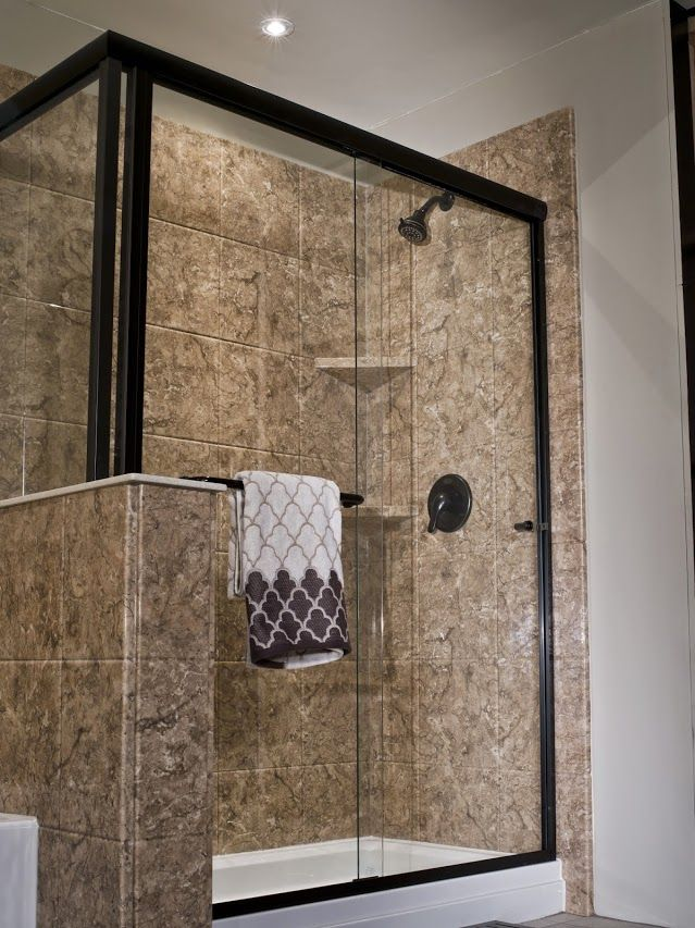 Turn A Bathtub Into A Spacious Walk In Shower Without Changing