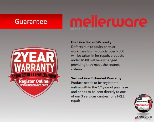 Mellerware Guarantee