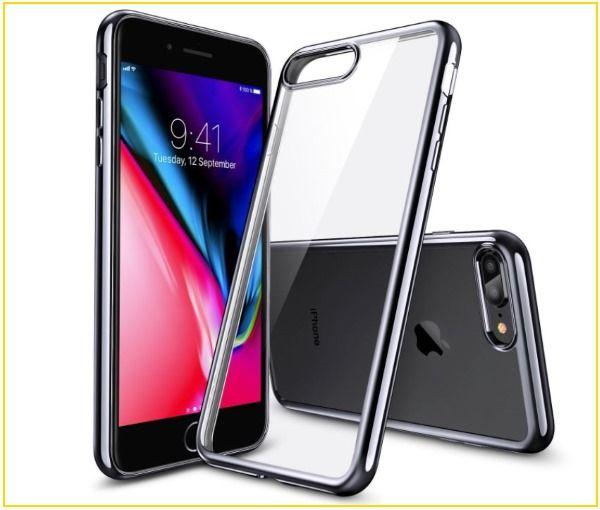 big sale 83212 d6b62 Best iPhone 8 Plus Clear Cases: Transparent, Protective, Anti-Drop ...
