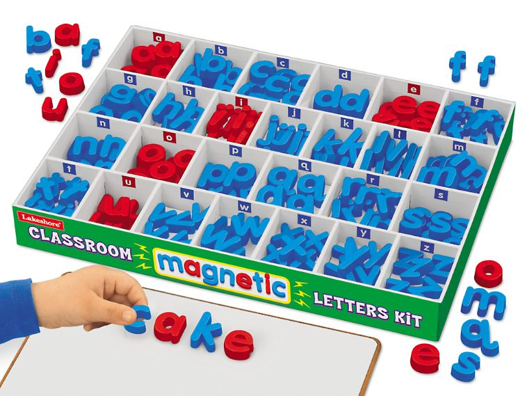 Lakeshore Magnetic Letters Kit Lowercase Magnetic Letters Educational Toys For Preschoolers Lakeshore Learning