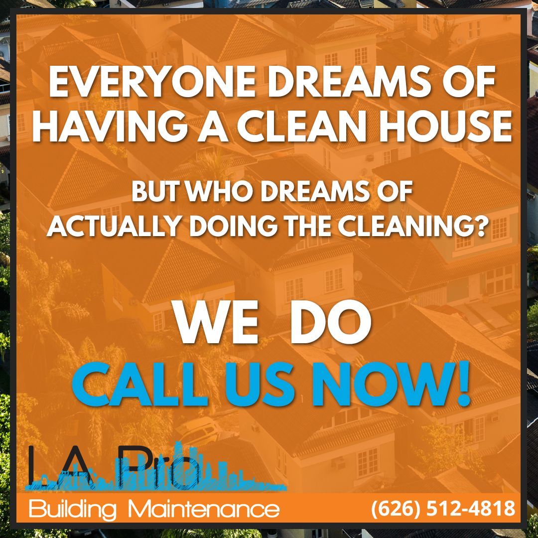 Cleaning is what we do and we take pride with our service