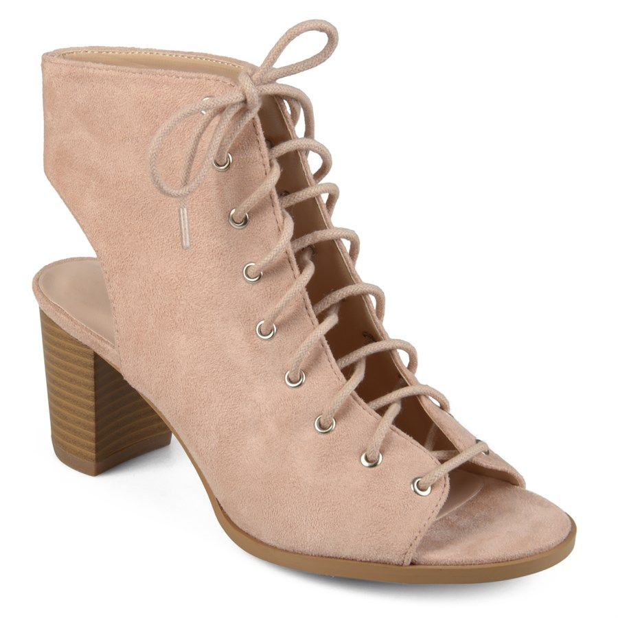 Trendy Lace-up High Heel Booties - 5 Colors!