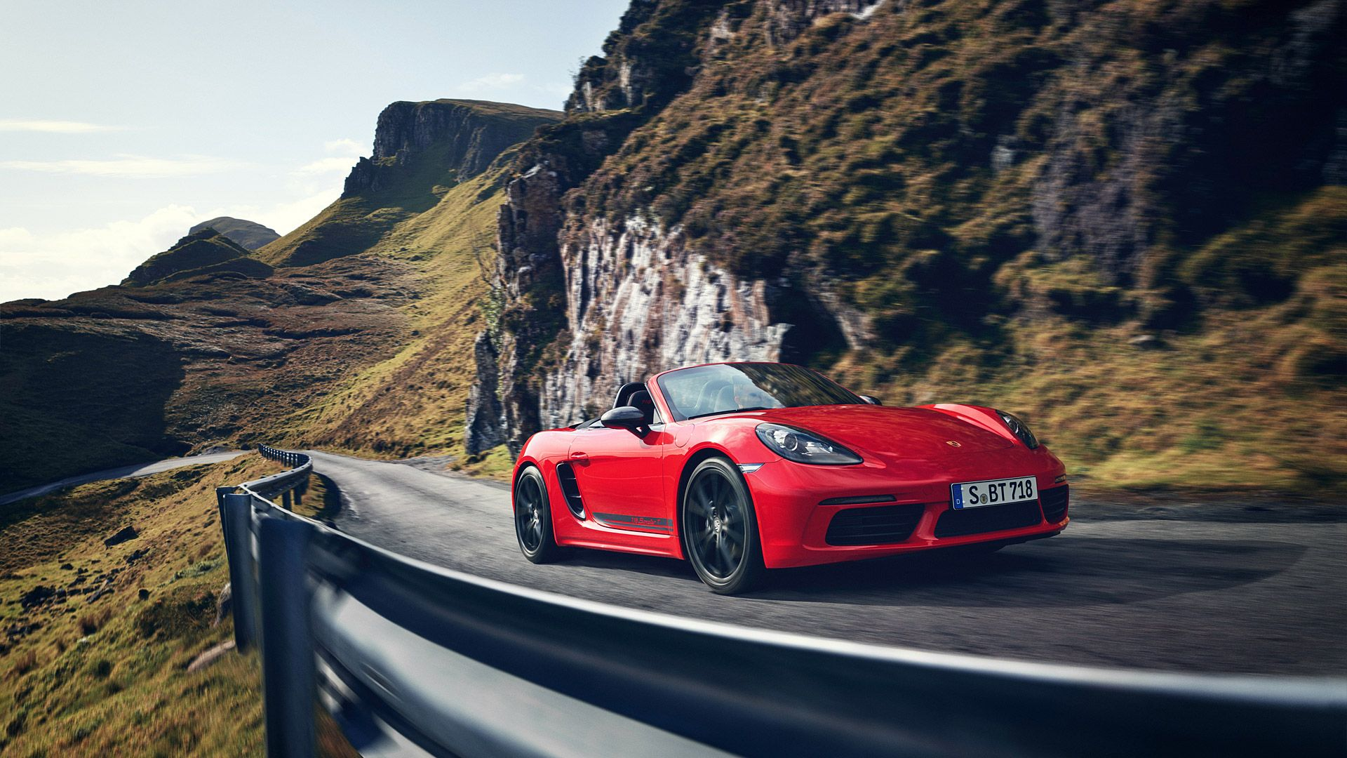2019 Porsche 718 Boxster T Wallpapers Wsupercars Porsche Convertible Porsche 718 Boxster Porsche 718 Cayman