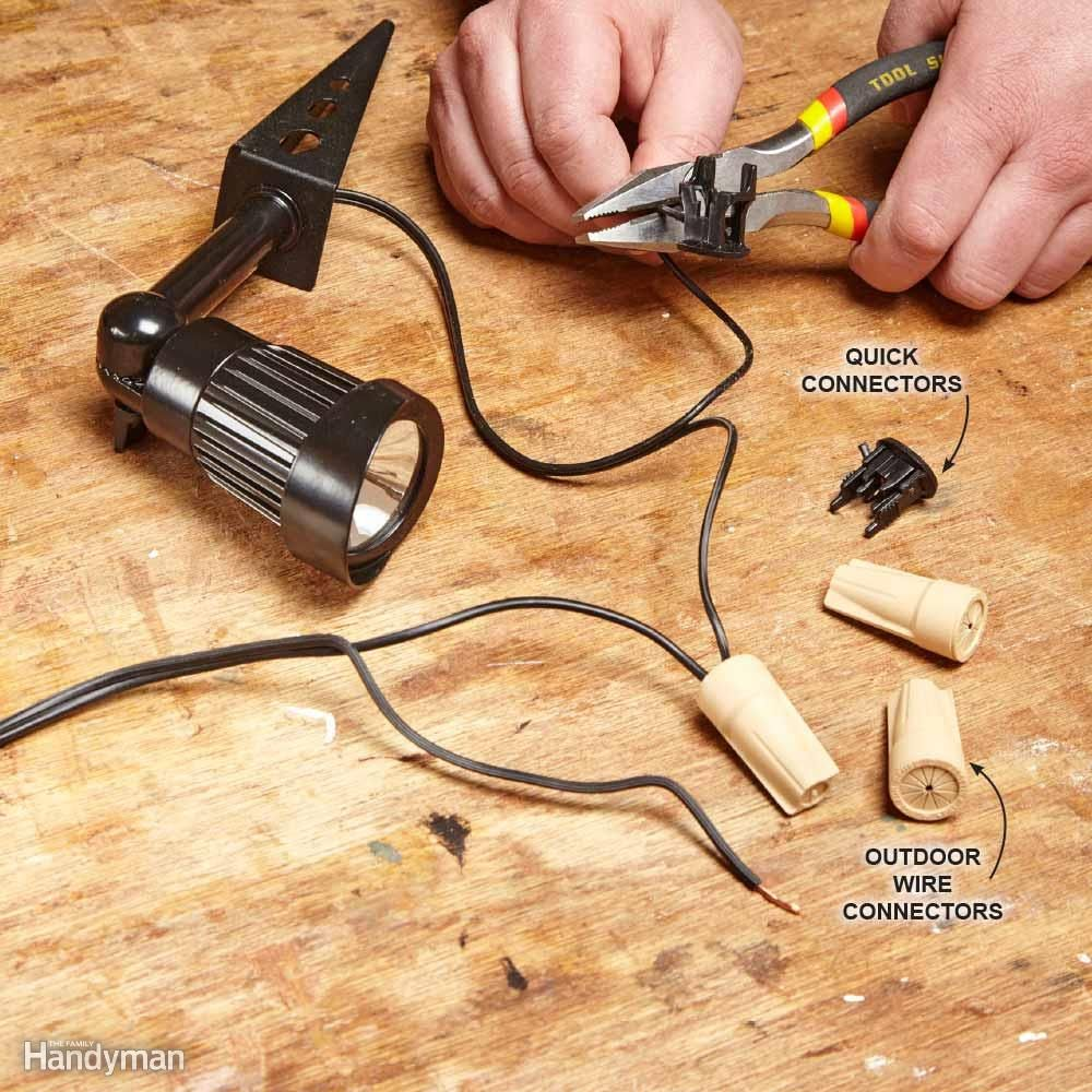 Landscape Lighting Connectors Outdoor Goods Wiring Portfolio Some Kits Have Preinstalled Quick But They Arent What The