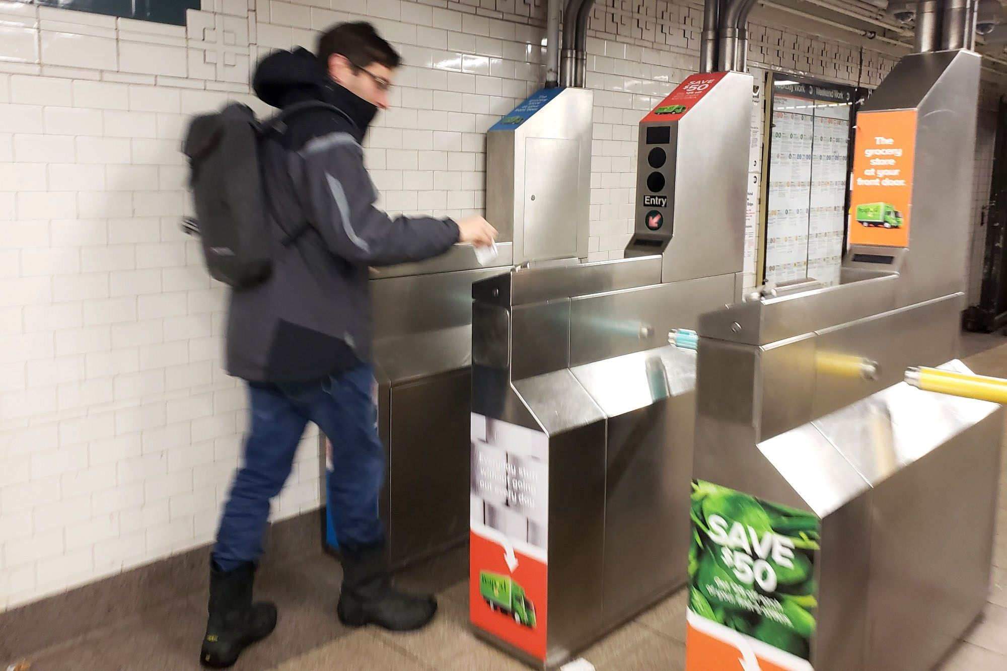 Finally Contactless Payments Coming to NYC Subway and