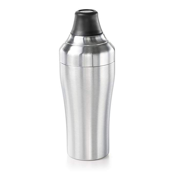 Amazon Com Oxo Steel Cocktail Shaker Stainless Steel