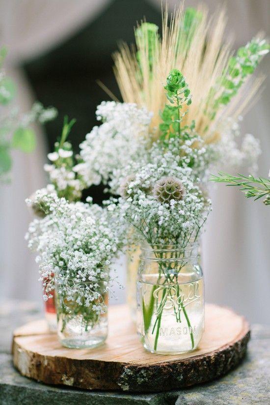 decoration mariage champetre d co de table nature rustique vert d co table rustic garden. Black Bedroom Furniture Sets. Home Design Ideas