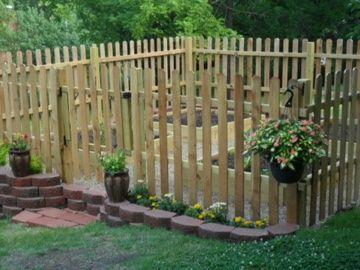 deer proof garden fence. Deer Proof Garden With Raised Beds Fence