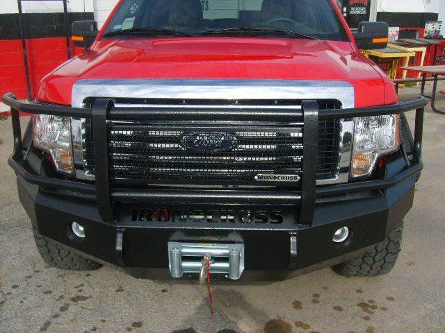Iron Cross Grille Guard Bumper For Ford Ford Super Duty Truck
