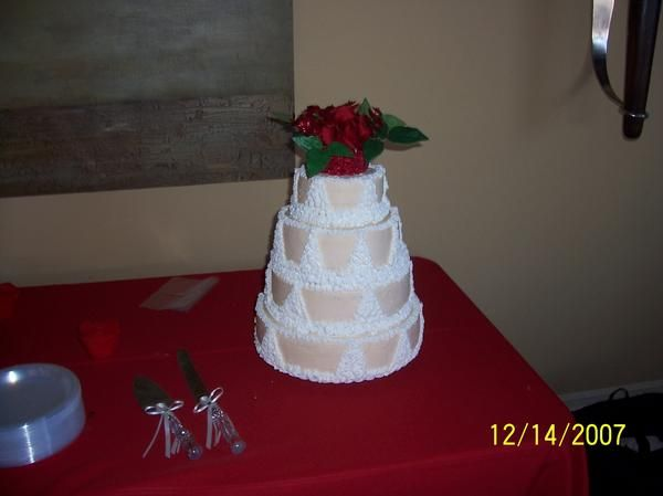 Another friends wedding cake