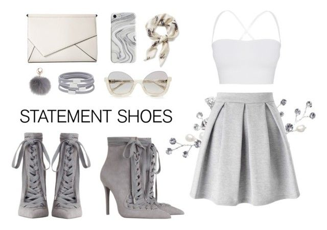"""Statement Shoes #2"" by jigsaw13 on Polyvore featuring Miss Selfridge, Zimmermann, Theory, L.L.Bean, Recover, Witchery, Kendall + Kylie and statementshoes"