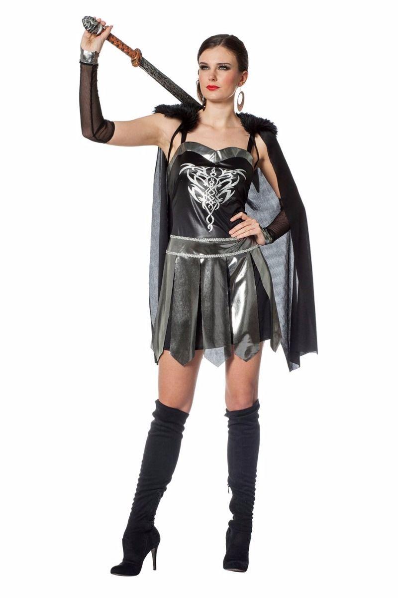 Stoere Carnavalskleding Dames.Romeinse Warrior Dame Bestaande Uit Jurk Cape En Arm Kappen Is Een