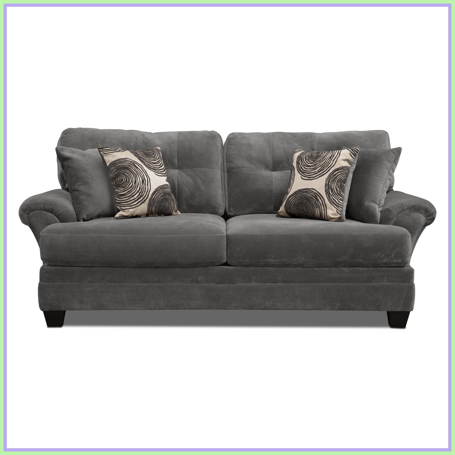 Change Up The Gray Couch With And Chic Black And White Striped Accents Grey Sofa Living Room Living Room Decor Gray Grey Couch Living Room