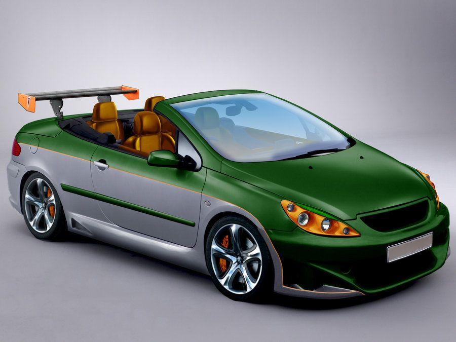 Peugeot 307 Cc Phase I By Dragonruwler Rolland Garros Style Peugeot Photoshop Peugeot Pugs Amazing Cars