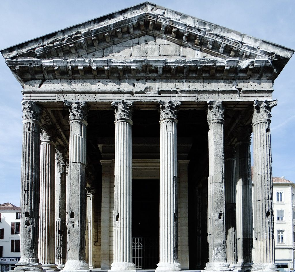 """Roman Architecture: Last-of-the-romans: """"Imperial Temple Of Augustus And Livia"""