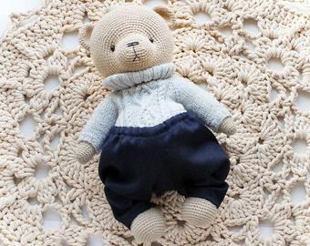 PATTERN Crochet Teddy bear/ PATTERN Amigurumi Teddy bear #crochetteddybearpattern