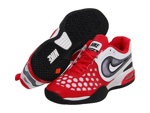 huge selection of cf376 d5664 Nike Kids Air Max Courtballistec 4.3 (Youth) Scarlet  Fire Black Anthracite White - Zappos.com Free Shipping BOTH Ways