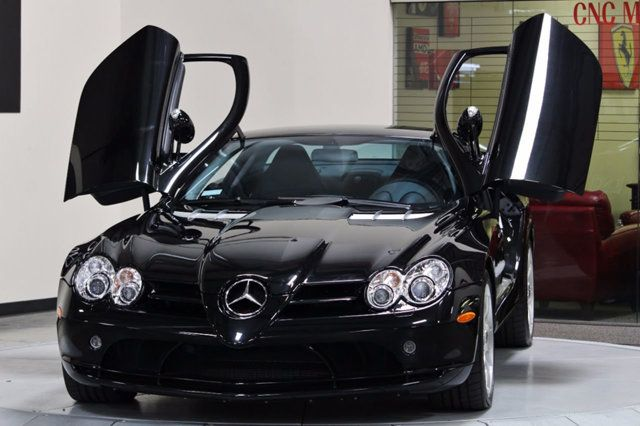 2006 Mercedes-Benz SLR McLaren Itu0027s very elegant in just the hardtop coupe model. I do like how the doors also raise up even in the soft-top model too ... & Pin by CBC on car | Pinterest | Cars
