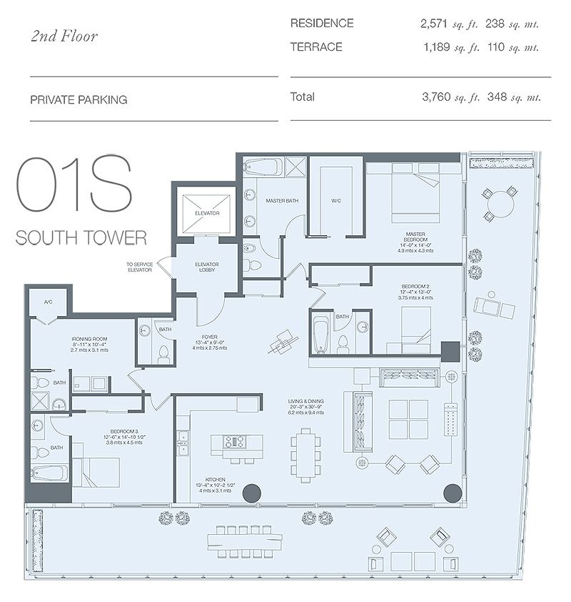 Pin By Yajayra Andrade On Condo Condo Floor Plans Apartment Floor Plans Condominium Floor Plan