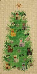Blog Stitching – My Needlepoint Cat Tree