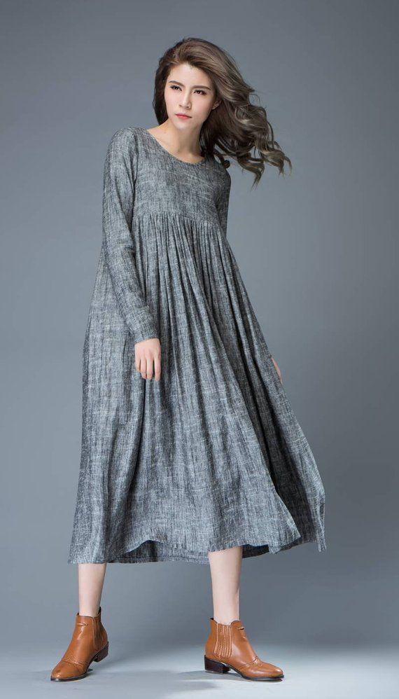 f5a520e539b Linen dress