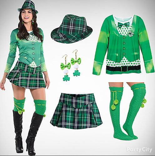 Buy St Patricks Day Party Costumes Outfit Ideas Fancy Dress