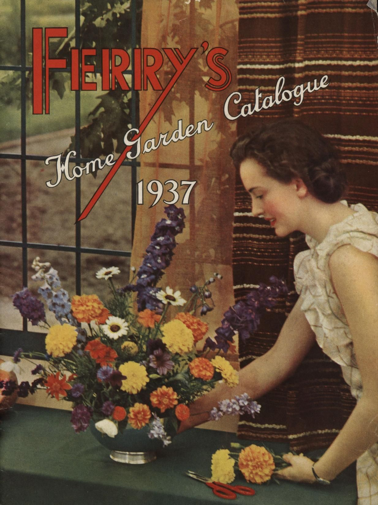 Ferryu0027s Home Garden Catalog 1937 : Ferry Morse Seed Co. : Free Download U0026  Streaming
