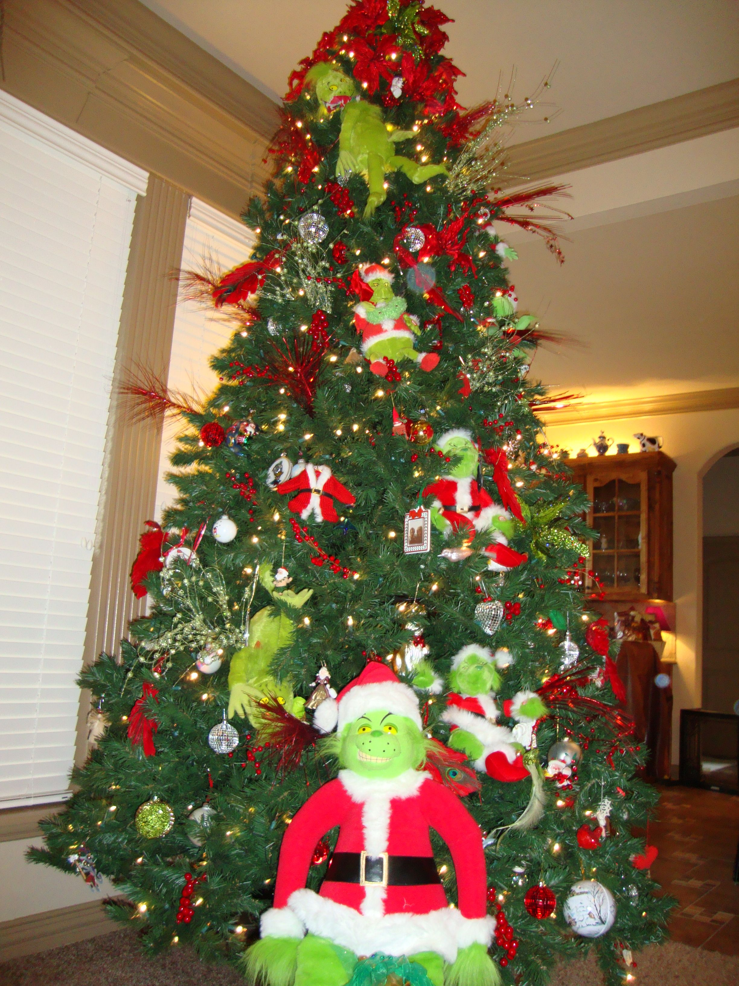 The Grinch Christmas Tree Decorations.9ft Grinch Tree Grinch Christmas Tree Christmas Tree