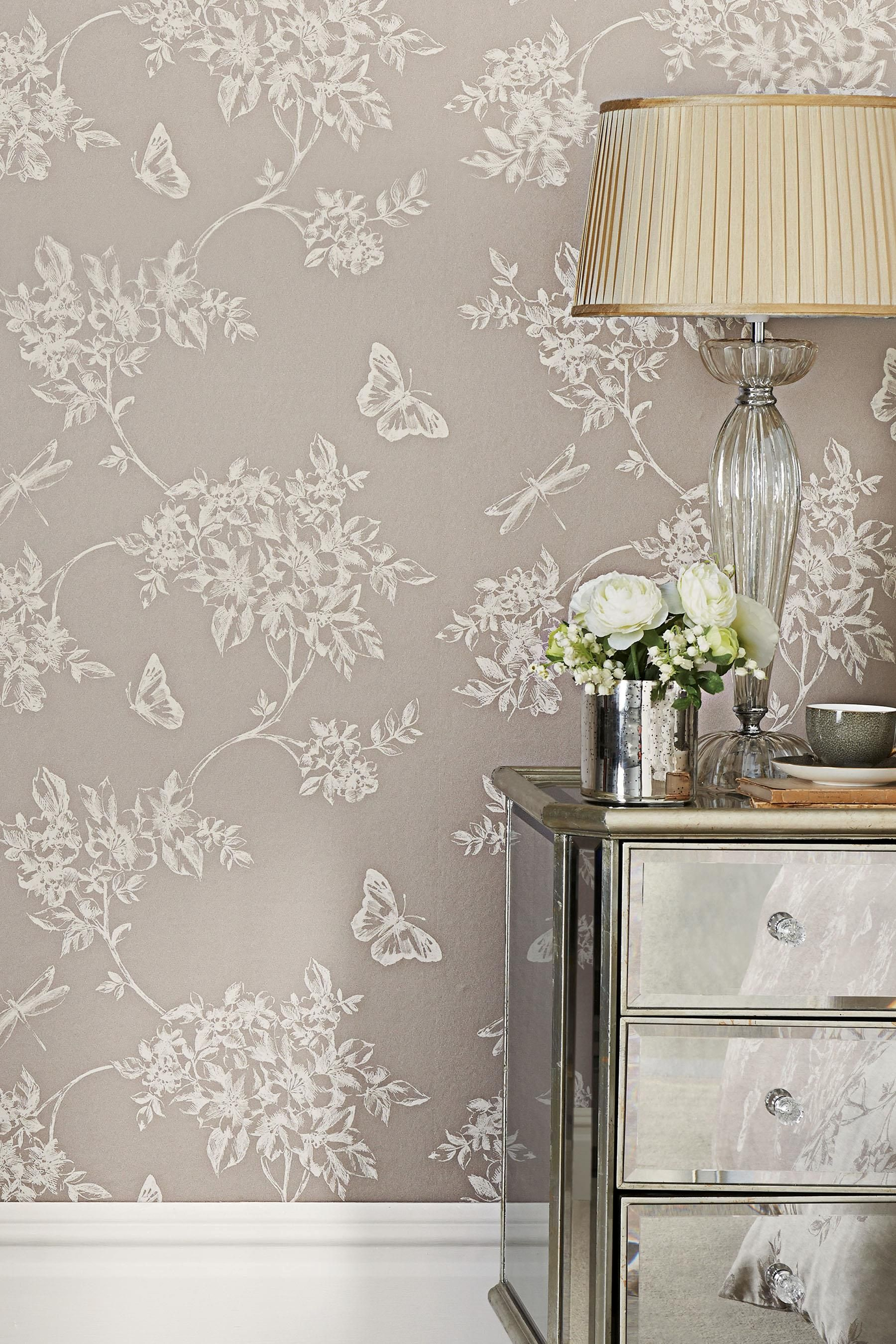 Damask wallpaper hallway ideas  Love this Next wallpaper  Bedroom Schemes  Pinterest  Wallpaper