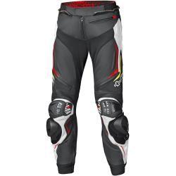 Photo of Held Grind Ii Motorcycle Leather Pants Black White Red 58 Held