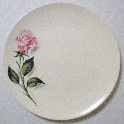 Dinner Plates Tupperware Rose Pattern By Edwin Knowles China Set of Three Tupperware Rose 10  & Dinner Plates Tupperware Rose Pattern By Edwin Knowles China Set of ...
