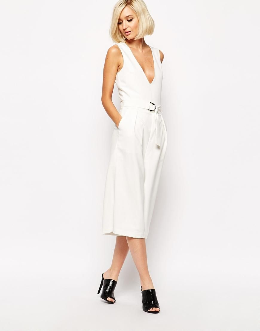 Lavish Alice Plunge Culotte Jumpsuit   Spring  Summer Wardrobe ... 6dba86051b