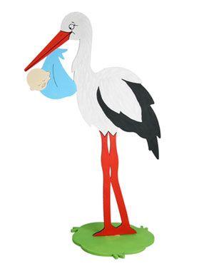 Pin Von Peggy Gross Auf B Like Baby Storch Zur Geburt Storch Klapperstorch