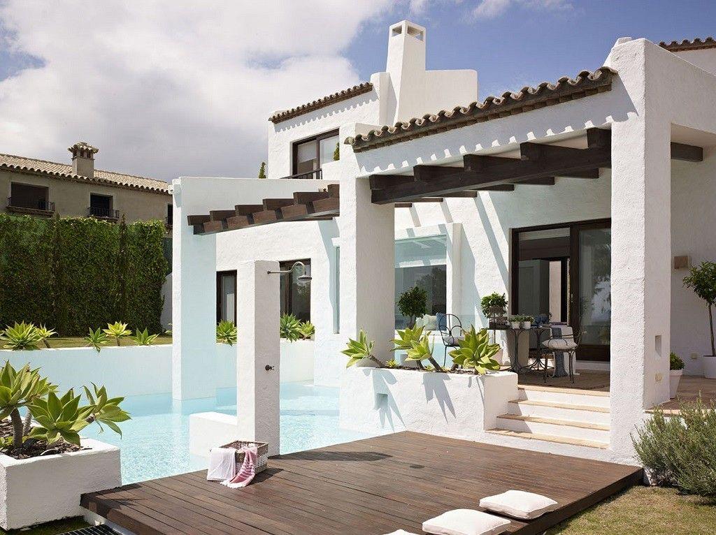 Esencia andaluza de luz y frescura en una preciosa casa en for Casa andaluza