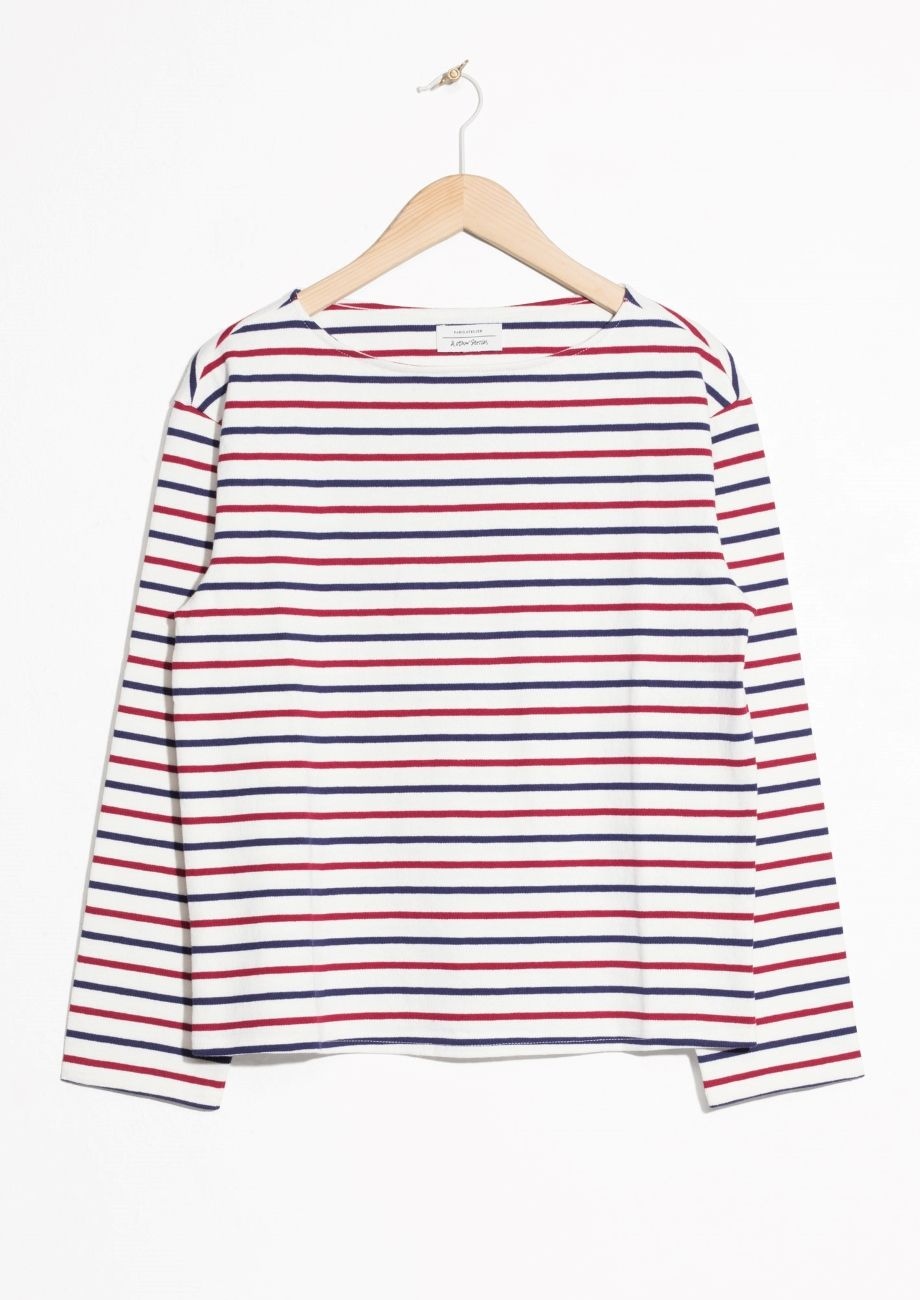 5902441e43c128 & Other Stories | #andotherstories #stripes #frenchstyle #top ...