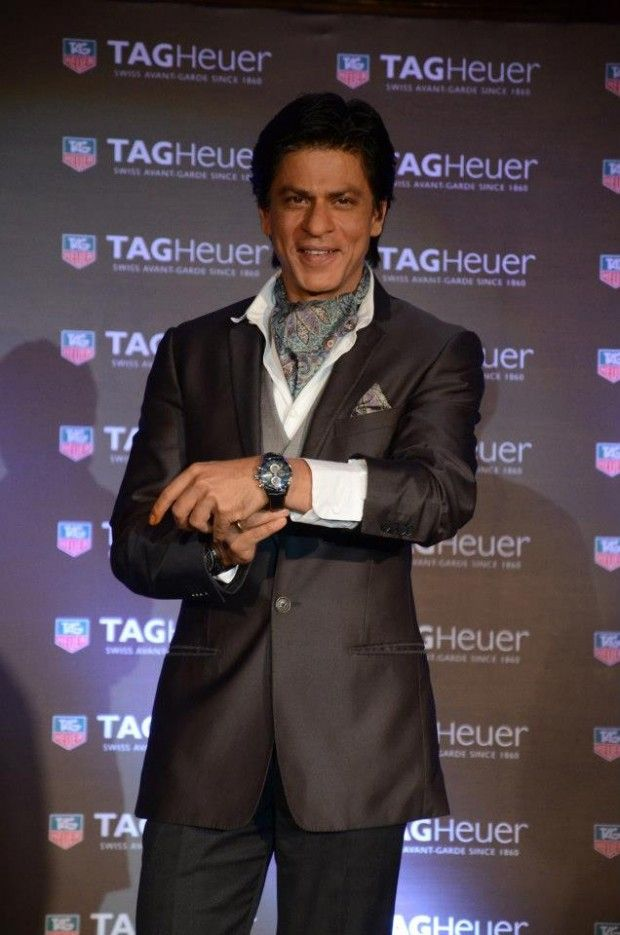 Bollywood badshah shahrukh khan for tag heuer indian celebrity watch brand ambassadors for Trendy celebrity watches