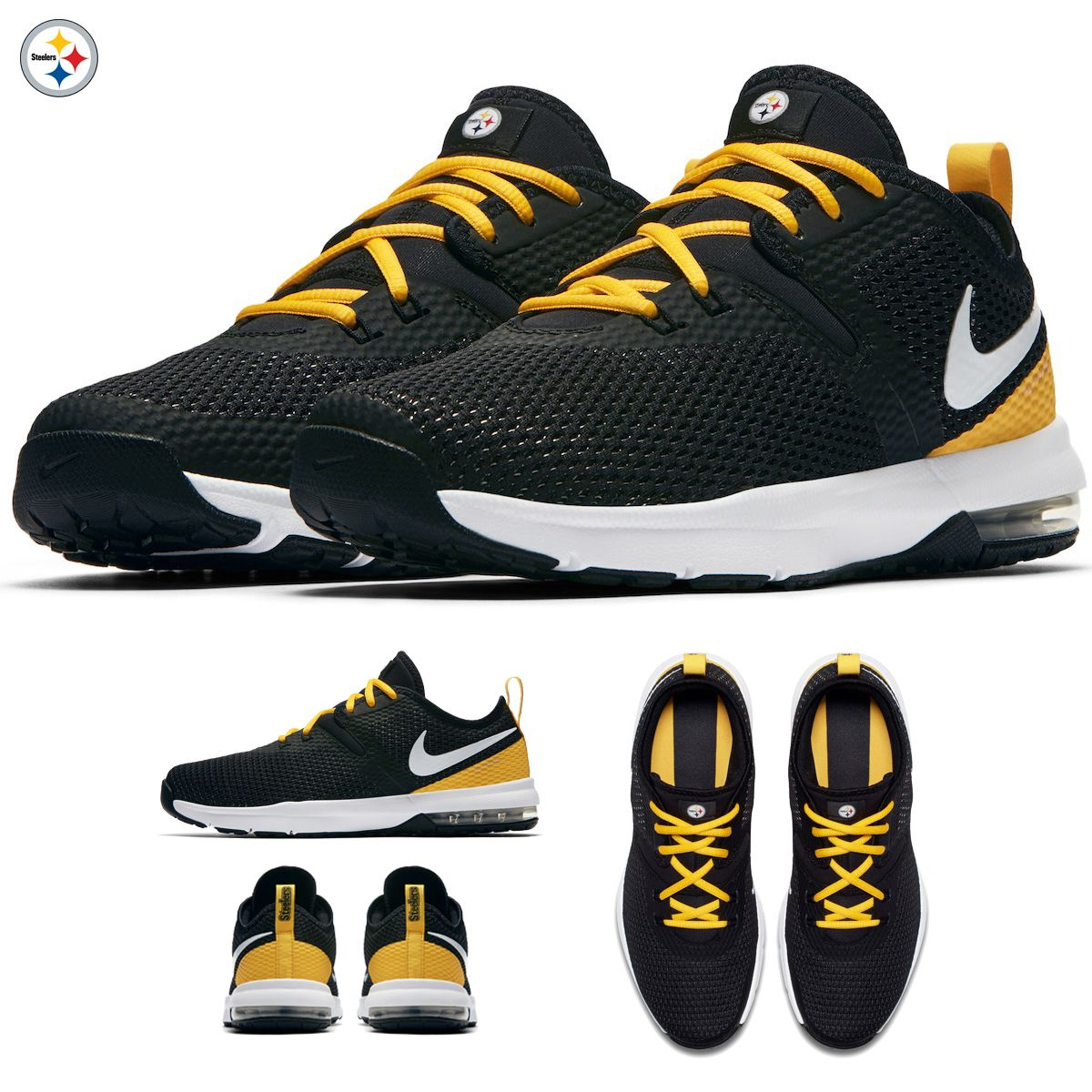 01d1d11813b Pittsburgh Steelers Nike Air Max Typha 2 Shoes NFL 2018 Limited Edition NWT  NEW HOT FROM THE OVEN!! The new NFL Nike Air Max Typha 2 collection!!