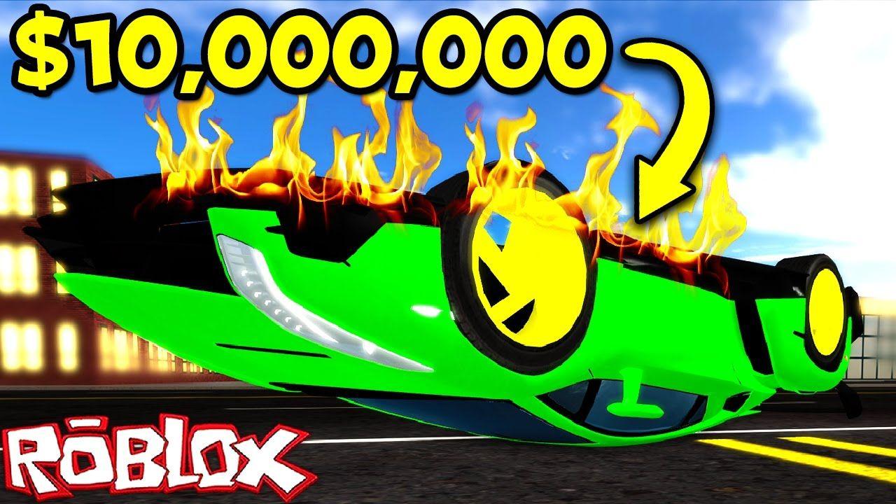 Wonderful CRASHING MY $10,000,000 LAMBORGHINI IN ROBLOX! (Roblox Vehicle  Simulator)