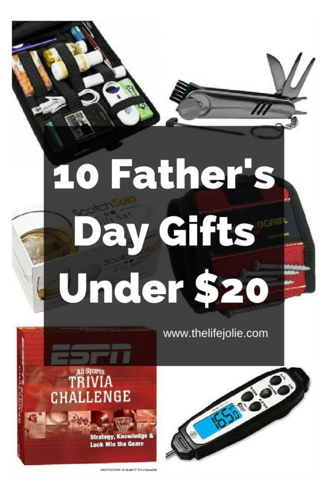 10 Father's Day Gifts Under $20 | Fathers day, Fathers day ...