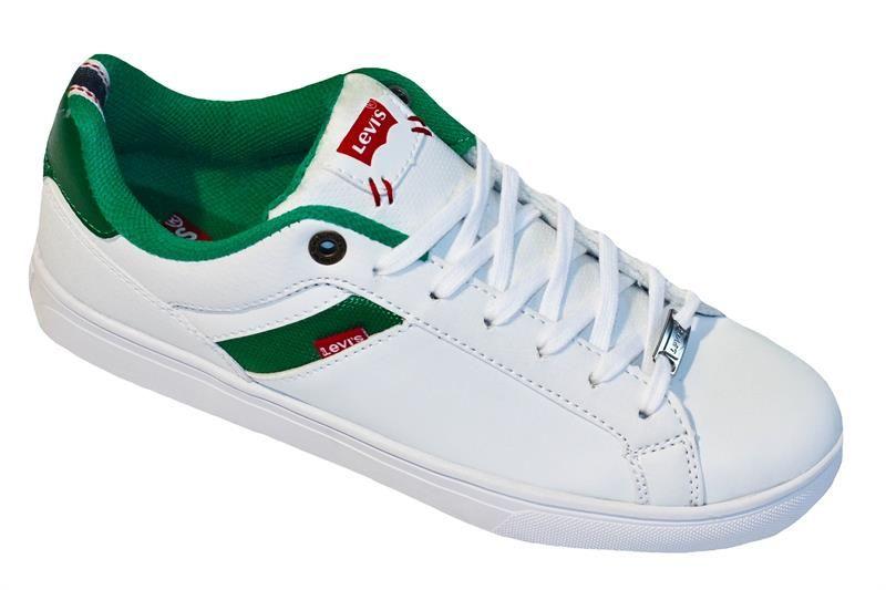 Levi's Henry Core PU Sneaker White/Green
