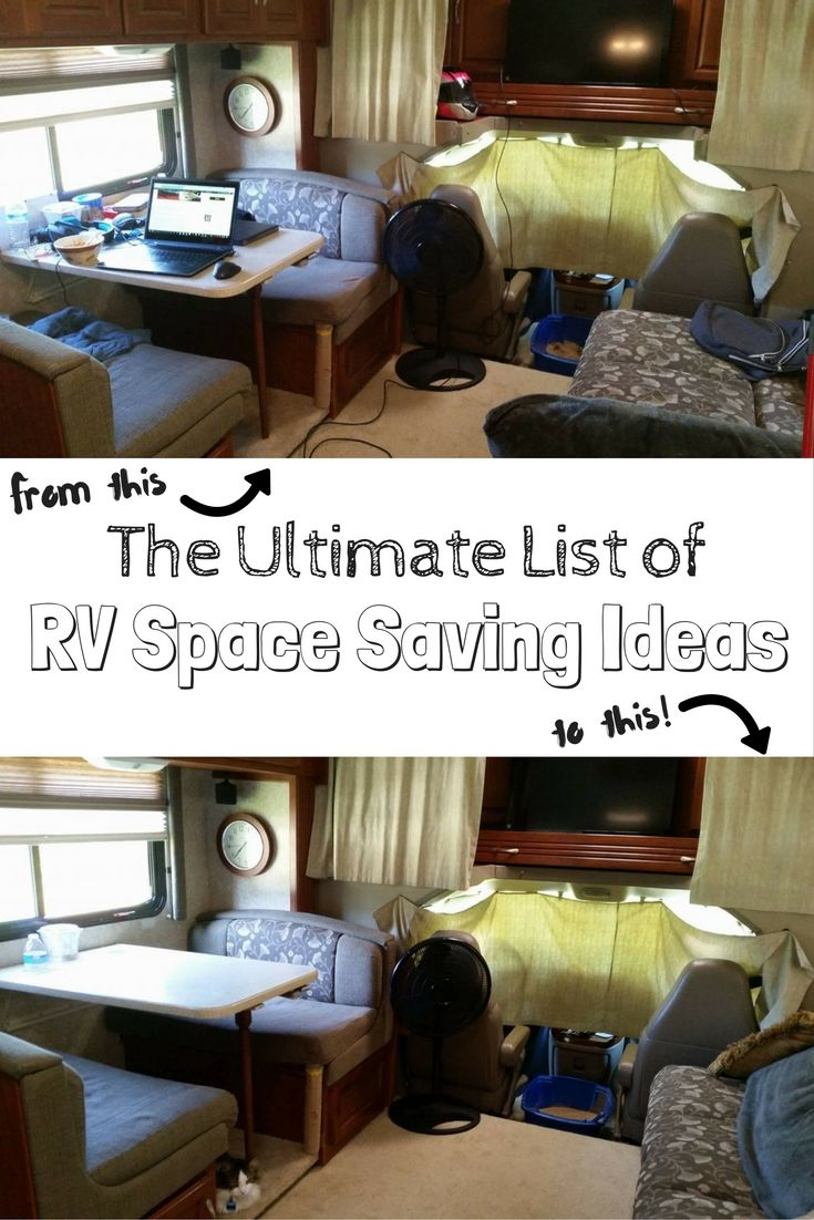 100 Rv Space Saving Ideas For Ultimate Rv Organization